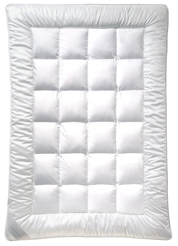 Billerbeck  5104690001 Faserdecke E21 King Uno Medium - Ganzjahresdecke 135 x 200 cm,Weiß
