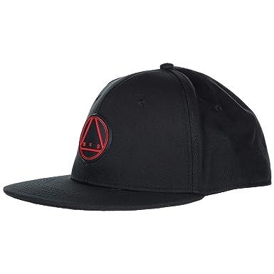 d3ecaf272b3 Amazon.com  McQ Alexander McQueen Men Baseball Cap Black - amp red ...