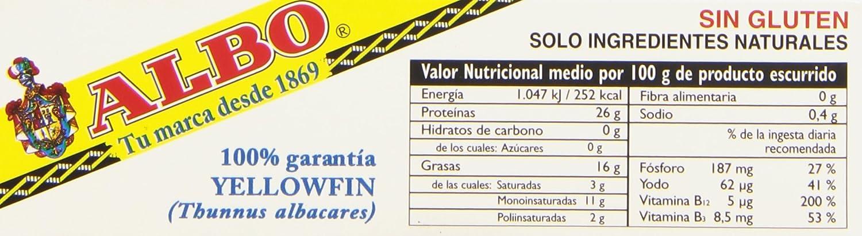 Albo - Atún claro en aceite de oliva - 112 g - [Pack de 8]: Amazon.es: Alimentación y bebidas