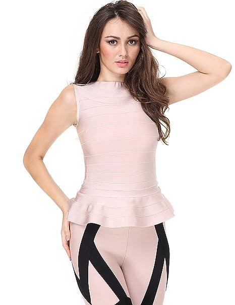 63f0676f55 Adyce vendaje bandage vestido con liguero rosa caliente lenceria Bustier  vestido sexy vestido ajustado tarde noche