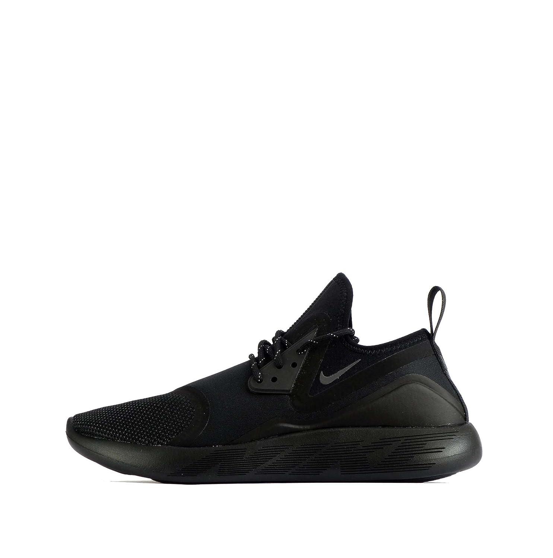 694a906d7f041e ... NIKE Men s Lunarcharge Essential Black Dark Grey Running Shoes 923619  001 (10.