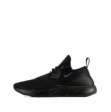 premium selection c492a 88a86 NIKE Lunarcharge Essential, Herren Sneaker schwarz Black/Dark Grey-Black,  schwarz -