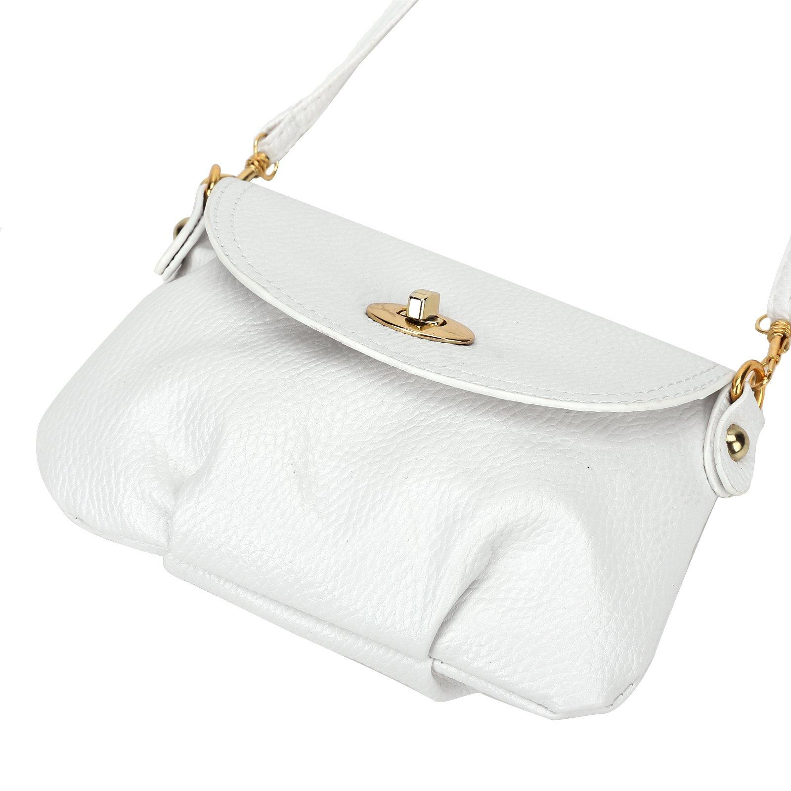 Ladies Mini SMALL Handbag Envelope Crossbody Shoulder Messenger Totes Bag Purse by Anladia (Image #5)
