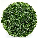 Seasofbeauty Buis Boule de Buis Plante Artificielle Boule d'herbe Décoration Maison Mariage (45 cm)