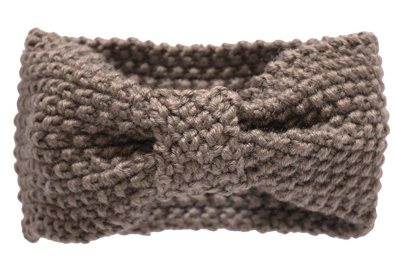KMystic Crochet Bow Winter Headband Ear Warmer