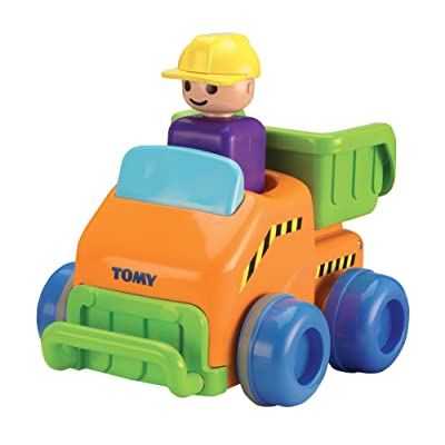 Toomies Tomy Push and Go Truck Toy: Toys & Games
