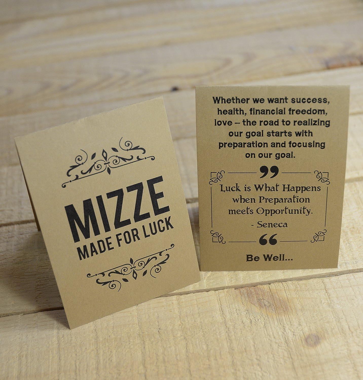 MIZZE Made for Luck Jewelry Kabbale Rouge Bracelet avec argent sceau de Salomon Amour Charm pour homme par Mizze