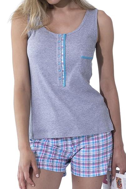ADMAS Pijama Mujer De Tirantes Natural Life: Amazon.es: Ropa y accesorios