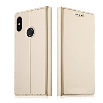 new styles 9eaa9 48c39 Xiaomi Redmi Note 5 Pro Case,Ultra Slim,Magnetic Closure,PU Leather Wallet  case Stand Cover,TPU Bumper-Leather Flip Cover Wallet,With bracket function  ...