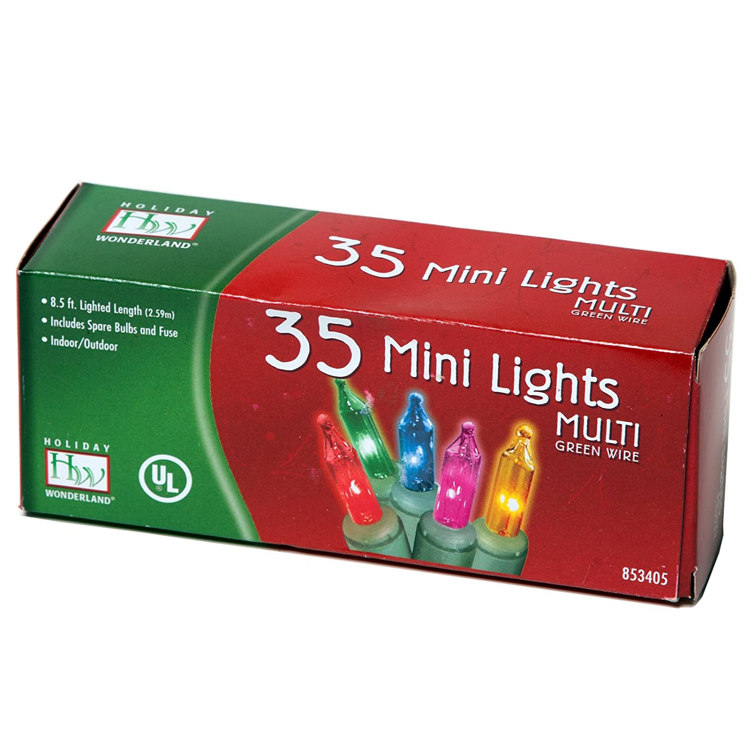 Indoor Outdoor 35 Count Multi Color Christmas Light Set