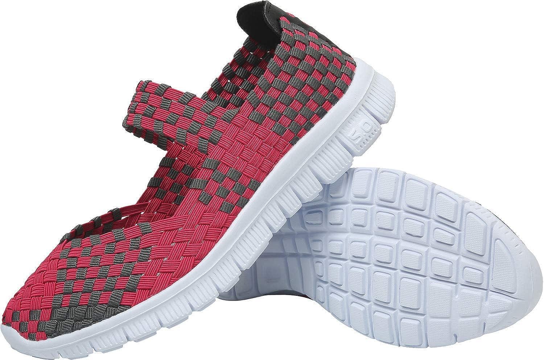 L-RUN - Zapatos de agua para mujer, color Rojo, talla 36 EU ...