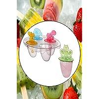 Sevimli Meybuz Dondurma Kalıpları 4 Adet