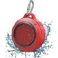 LENRUE Waterdichte bluetooth-luidspreker, draadloze mini-douche luidspreker met HD-stereo, 8 uur speeltijd, microfoon…