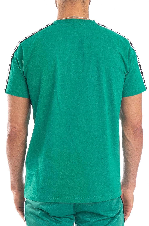 Kappa Mens 222 Banda Coen T-Shirt White