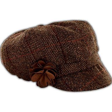 Ladies Irish Baker Boy Wool Hat - Downton Abbey Style de453daa358