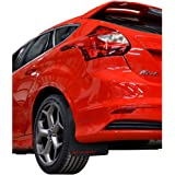 Rally Armor 2013+ Ford Focus ST Mud Flaps Red Logo