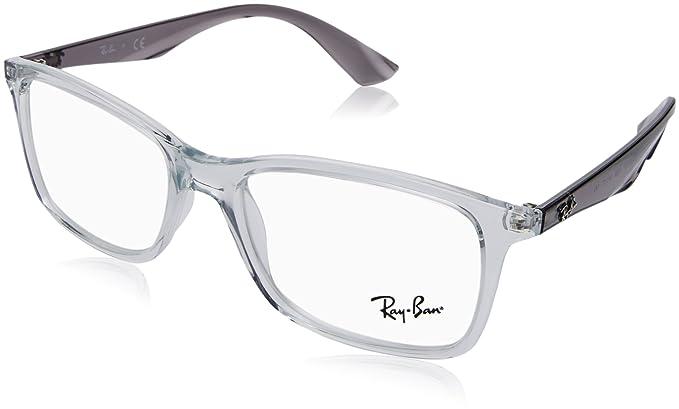 a46a2c2a058 ... sale ray ban mens rx7047 eyeglasses trasparent 54mm c15c2 e30eb