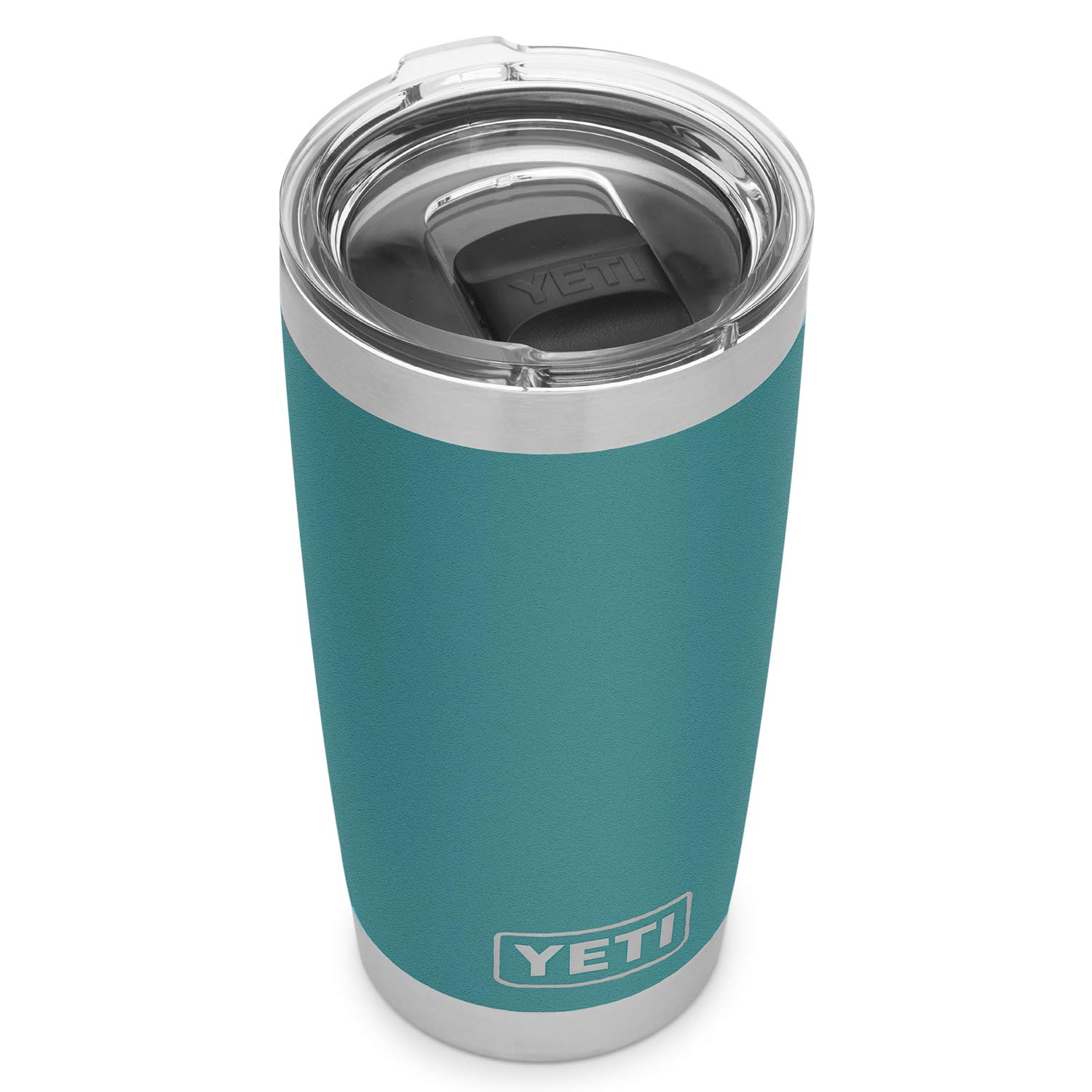 YETI Rambler 20 oz Stainless Steel Vacuum Insulated Tumbler w/MagSlider Lid, River Green by YETI