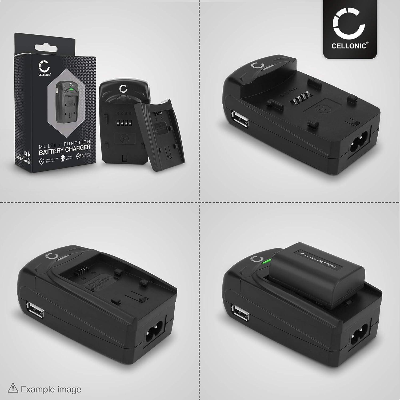 Coolpix 3500 CELLONIC/® Chargeur MH-60 Compatible avec Nikon Coolpix 2500 Coolpix SQ Coolpix CQ en-EL2 Alimentation c/âble Charge Voiture Adaptateur Secteur