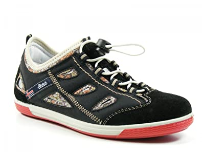 Rieker Schuhe Damen Halbschuhe Sneaker Slipper Lexi schwarz kombi 52467-00 f2e55299d5