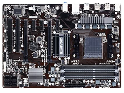 Gigabyte AM3+ AMD 970 SATA 6Gbps USB 3 0 ATX AM3+ Socket DDR3 1600  Motherboards (GA-970A-DS3P)