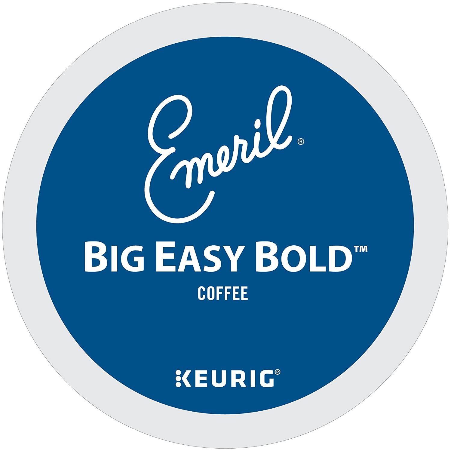 Emeril's Big Easy Bold Coffee K-Cup Portion Pack for Keurig Brewers 96-Count Emeril's 10842115010362
