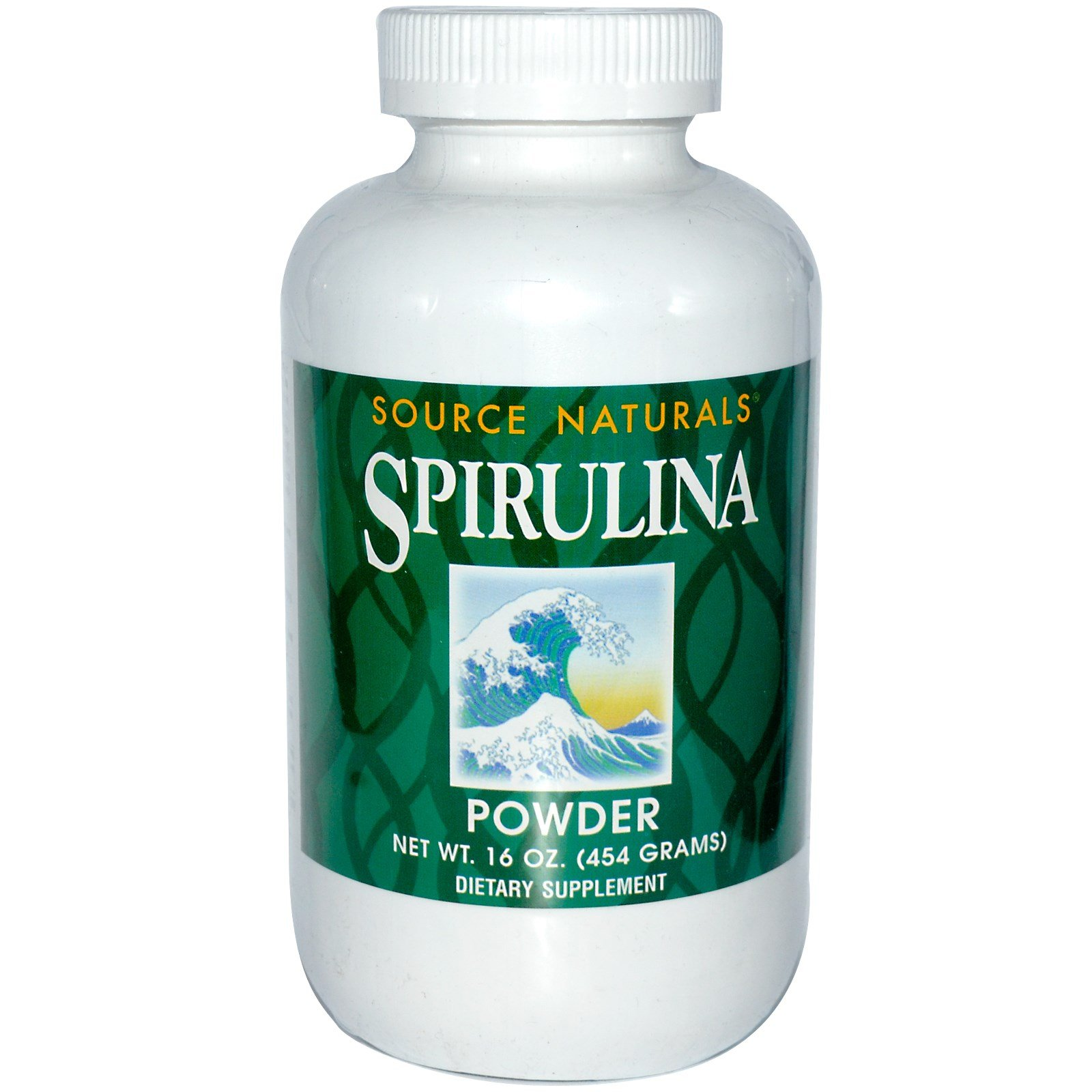 Source Naturals, Spirulina Powder, 16 oz (454 g) - 3PC