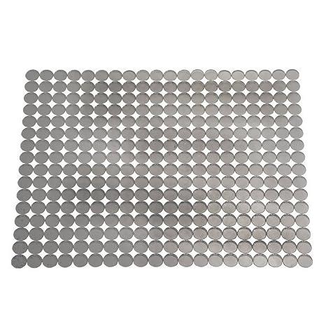 interdesign orbz protection vier grand tapis vier en plastique egouttoir a vaisselle dcouper - Grand Tapis