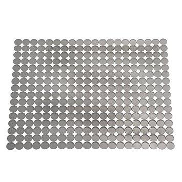 interdesign orbz kitchen sink protector mat large graphite. Interior Design Ideas. Home Design Ideas