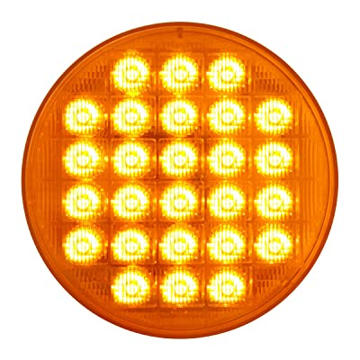 "Grand General 74890 Amber 4"" Smart Dynamic LED Sealed Light: Automotive"