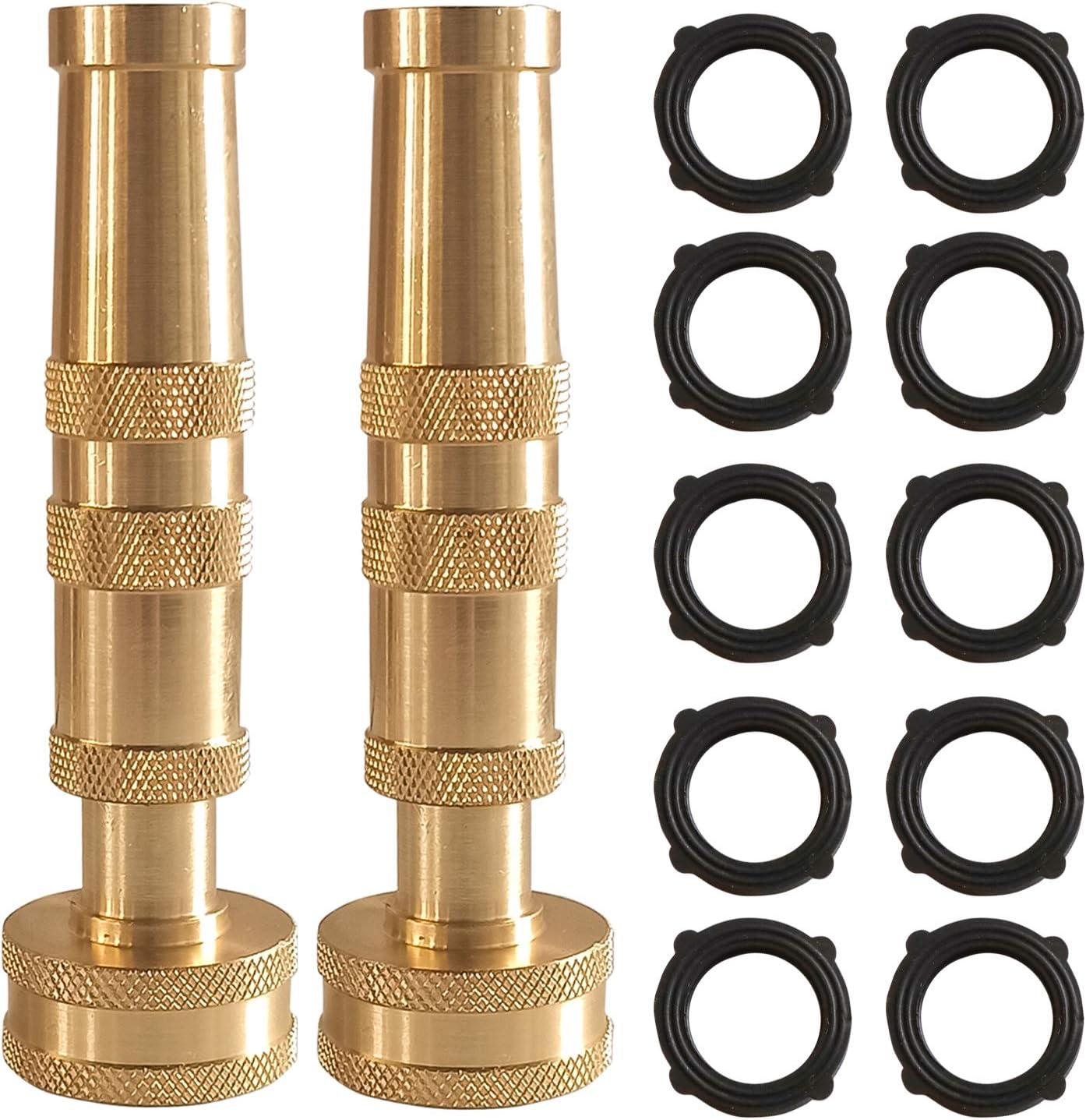 Hourleey Adjustable Twist Hose Nozzle, 4