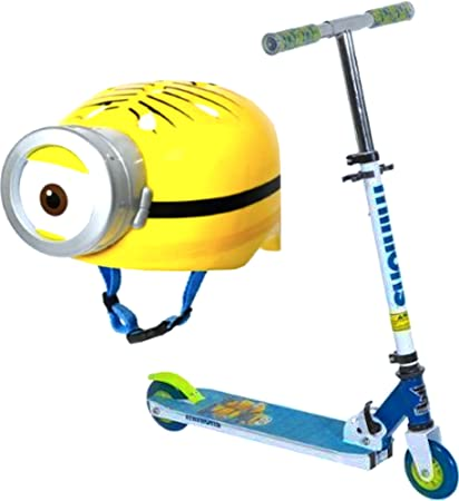 Amazon.com: Minions 2-wheel Folding Scooter, Aluminum ...