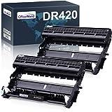 OfficeWorld Compatible Drum Unit Replacement for Brother DR420 DR-420 DR 420 for HL-2270DW HL-2280DW HL-2230 HL-2240 MFC-7360