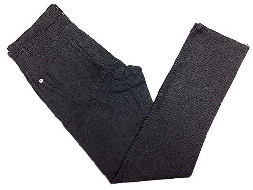 c8dab6680f2769 Calvin Klein Jeans Mens Herringbone 5 Pocket Slim Straight Pant (30W x 32L,  Black