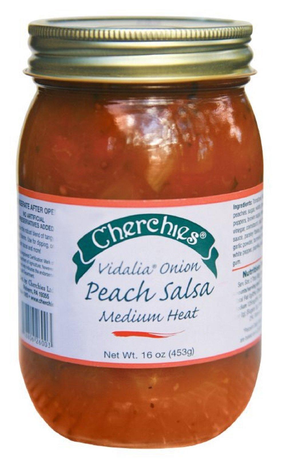 Cherchies Vidalia Onion Peach Salsa
