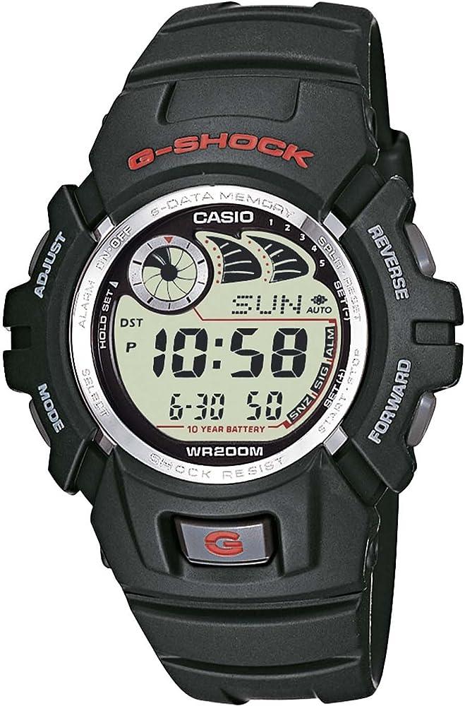 Casio G-SHOCK Reloj Digital, 20 BAR, Negro, para Hombre, G-2900F ...