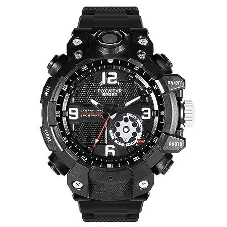 QYSHH Smartwatch, Relojes Inteligentes, Reloj con Cámara Deportiva ...
