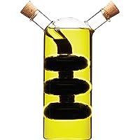 Kitchencraft World of Flavours 2-in-1Dispenser per Olio e aceto,–Vetro Trasparente