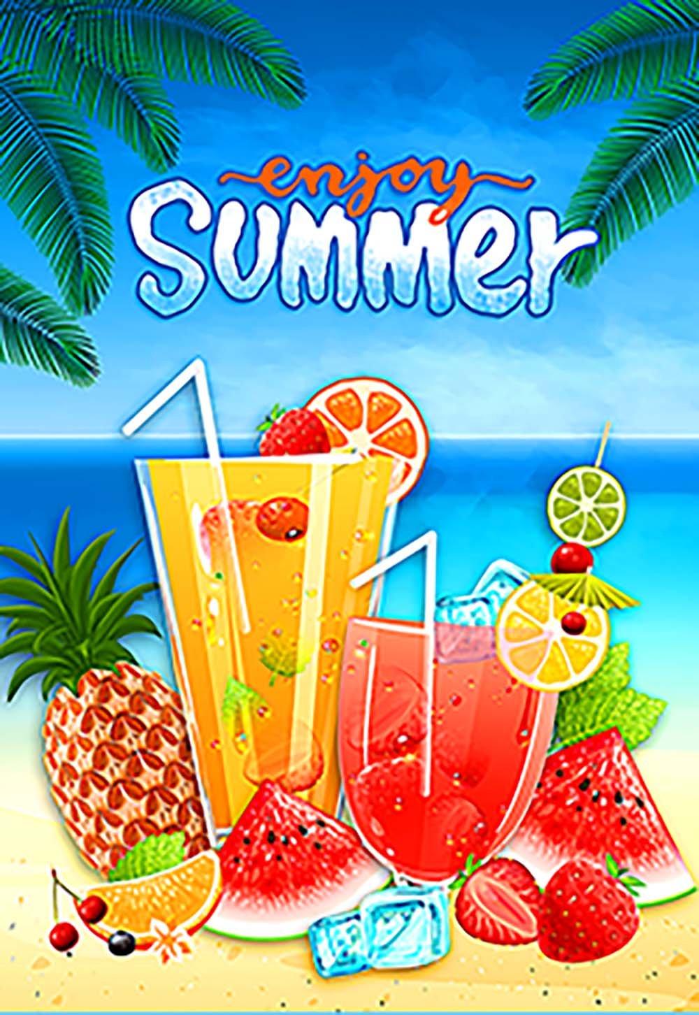 Morigins Summer Fun 28x40 Inch Decorative Tropical Beach Pineapple Party House Flag