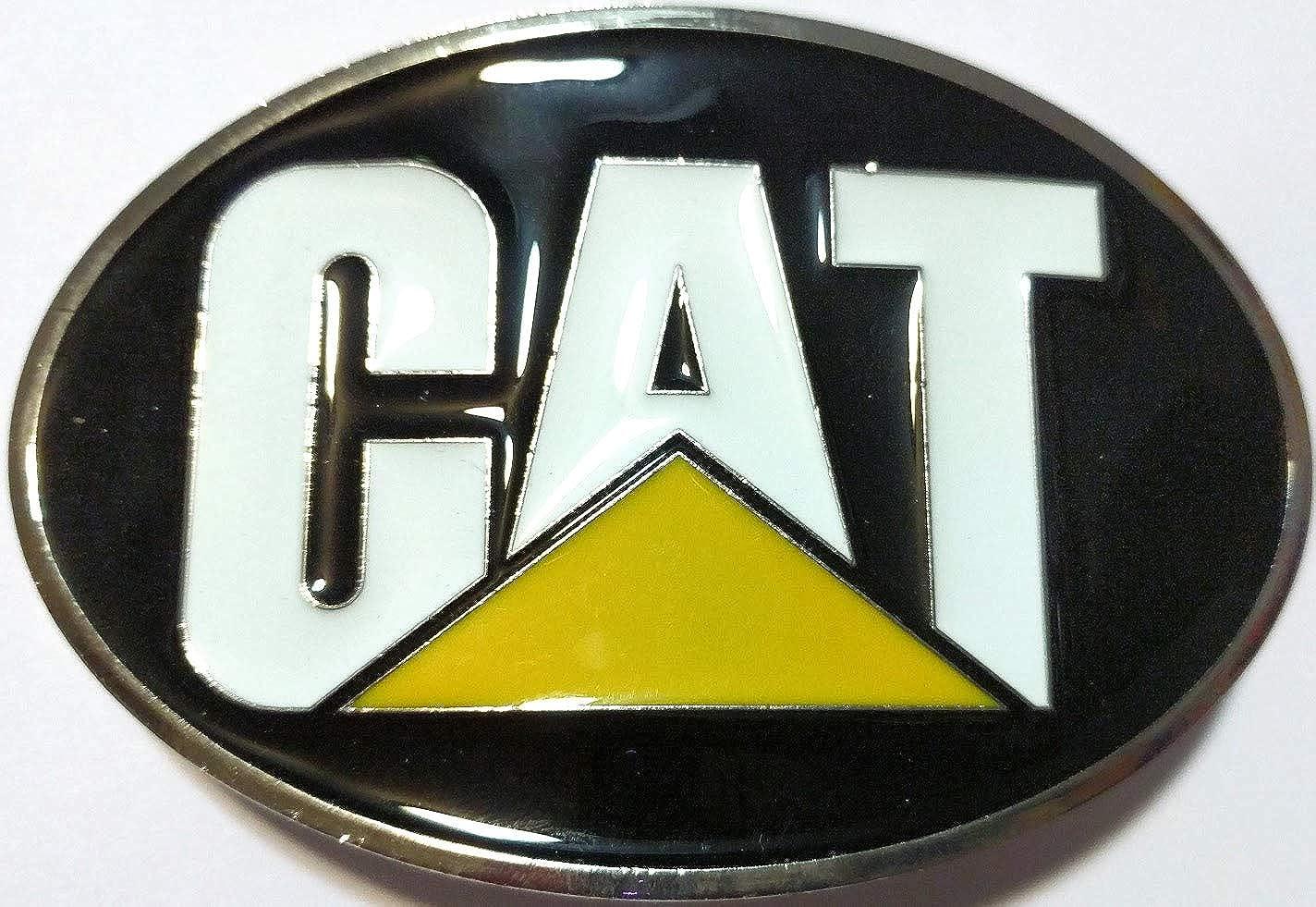 Amazon com: SuperGifts CAT Belt Buckle CATERPILLAR Belt