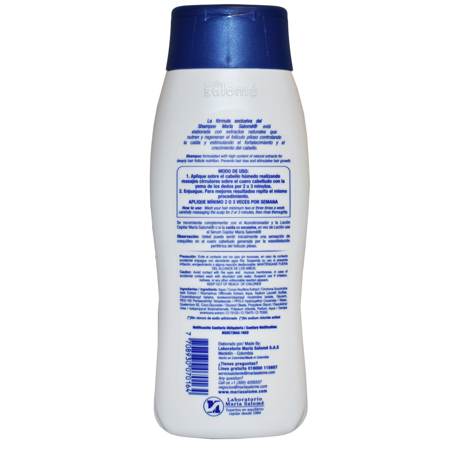 Maria Salome Shampoo 400 ML