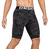 DRSKIN Men's 1 or 3 Pack Compression Shorts Sports