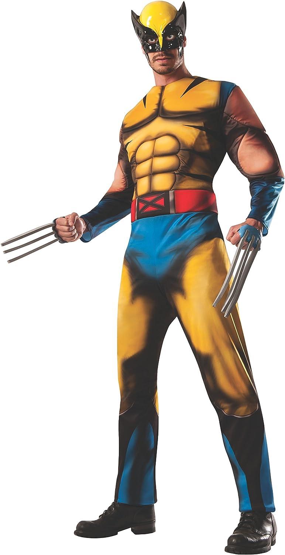 Costume Men's Marvel Universe Deluxe Adult Wolverine Costume