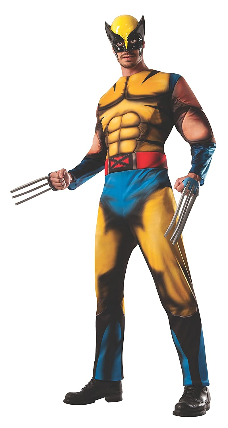 Rubie S Costume Men S Marvel Universe Deluxe Adult Wolverine Costume