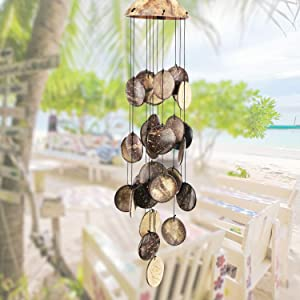 sinfinate Wind Chimes for Outside, Memorial Wind Chimes Outdoor, Gifts for Housewarming/Christmas/Mother, Sympathy Wind-Chime Personalized, Elegant Chime for Garden Patio Balcony and Home