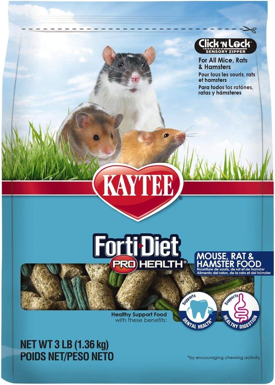 Kaytee Forti-Diet Pro Health Mouse, Rat & Hamster Food
