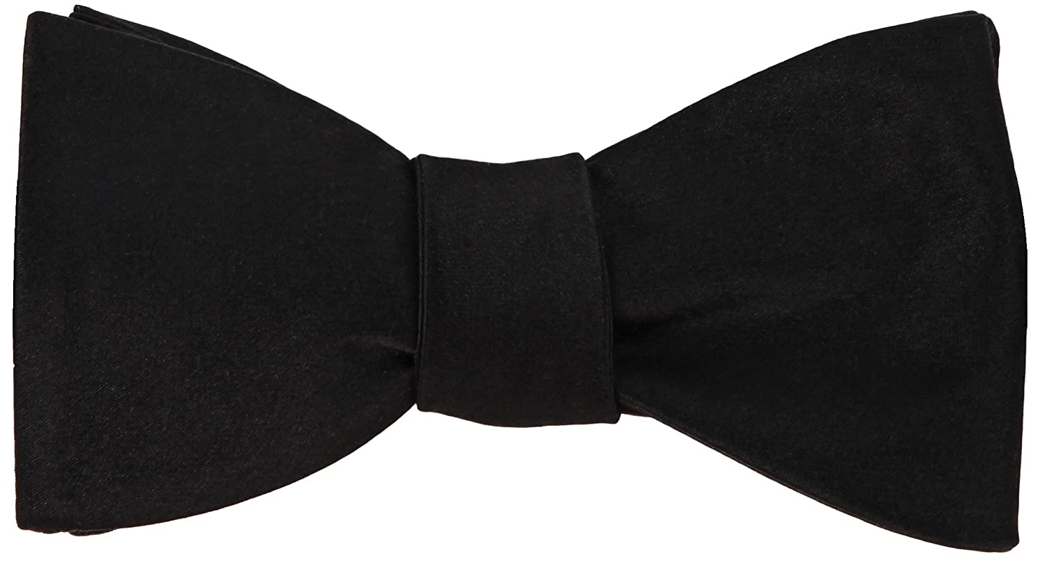 Black 100/% Woven Silk Bow Tie Self-Tie Butterfly Wedding Collection Gift Boxed