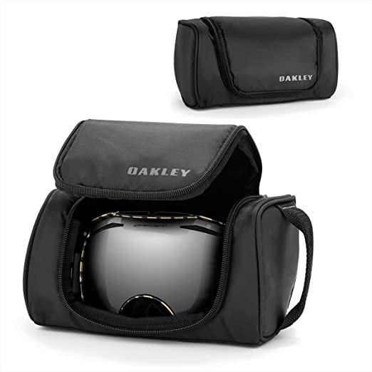e4d4f5026b Oakley Universal Soft Adult Storage Case Snowmobile Goggles Accessories -  Black One Size