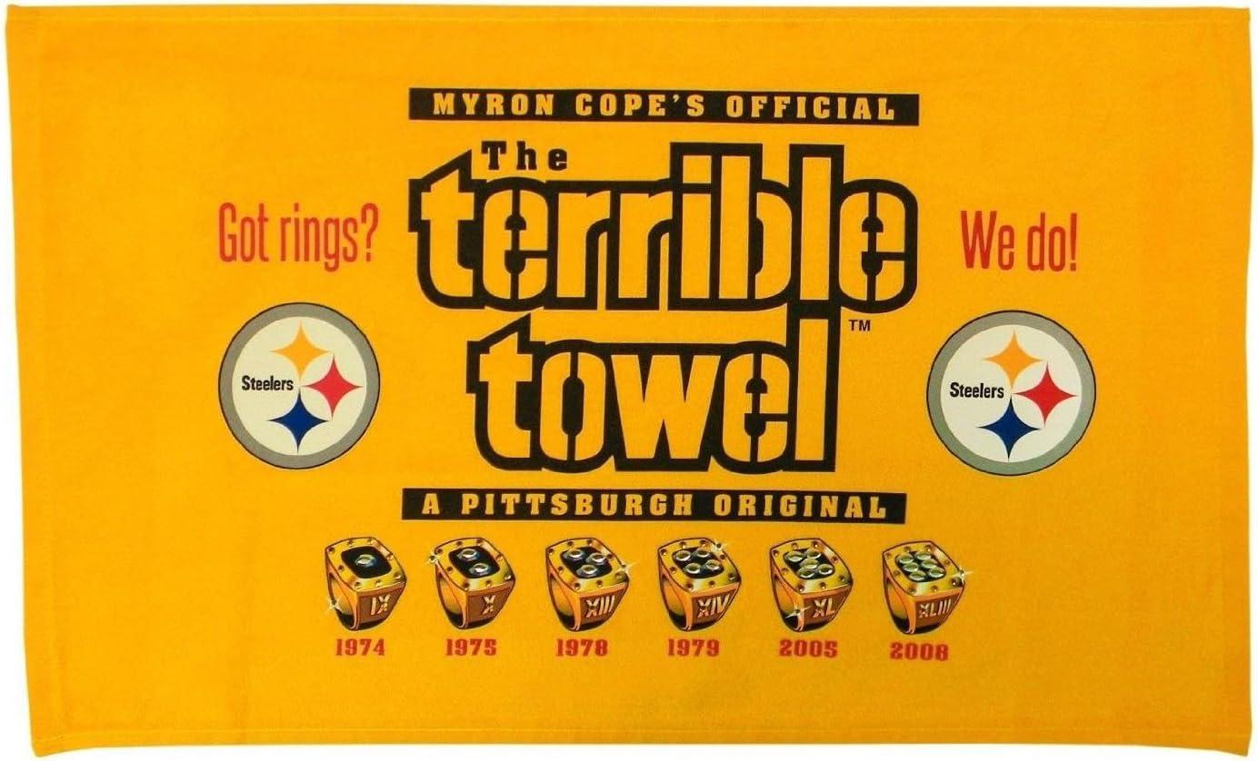 Newest Steelers Terrible Towel
