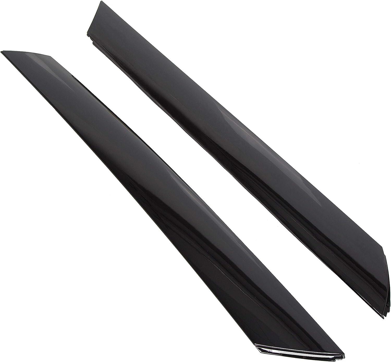 10-13 Kia Soul Left /& Right Windshield A Pillar Garnish Molding Panel Trim Set